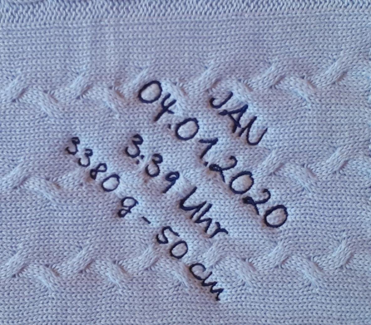 Decke-Geburtsdaten