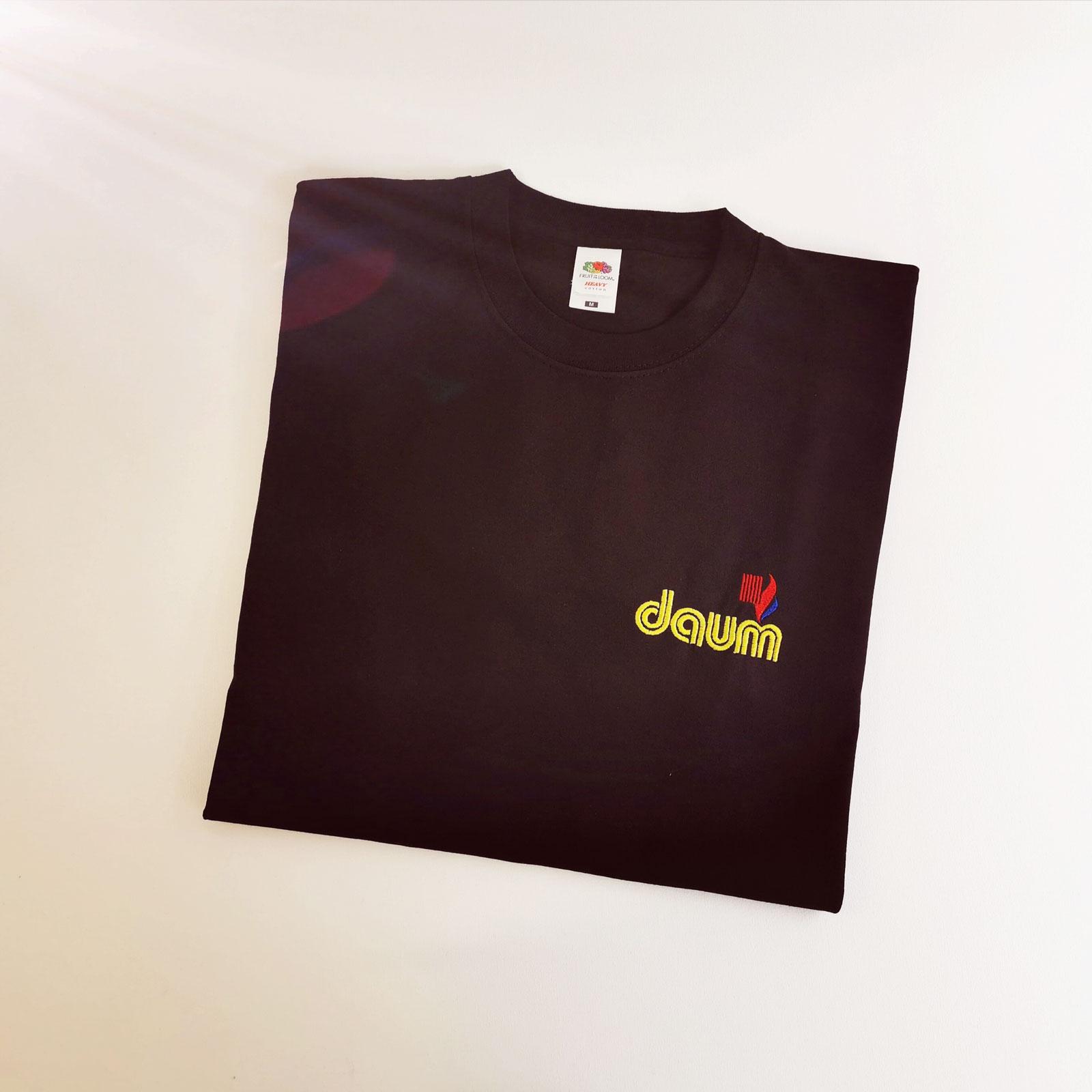 T-Shirt Logobestickung